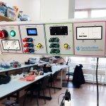 Система электроснабжения потолочная для кабинетов физики, химии, инженерных классов